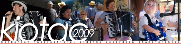 Kimberly International Old Time Accordion Championship header