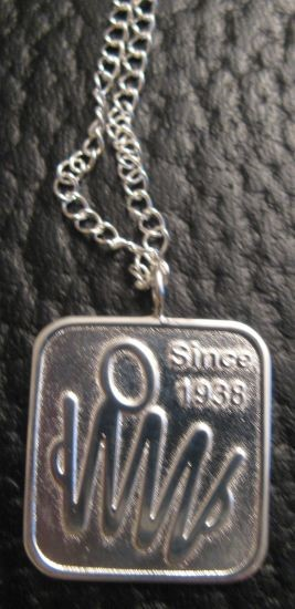 AAA Commermorative Sterling Silver Necklace