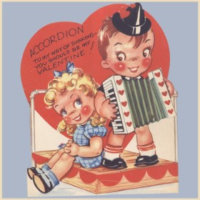 Accordion Valentine