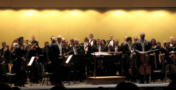 Photo of Erie Philharmonic by Cheyenne Nicole Shaffer