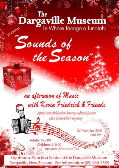 "Poster ""Sounds of the Season"" Concert,"