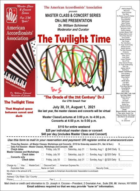 The Twilight Time AAA Workshop Flier